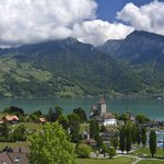 Spiez on Lake Thun
