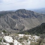 View from the Guadalupe Peak Trail