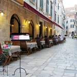 Most enchanting street in Old City of Dubrovnik