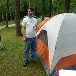 Camping at the KOA