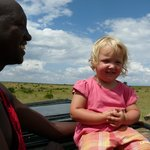 open top safari drive