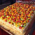 Pavilions Desserts: Fruit Gateux Cake