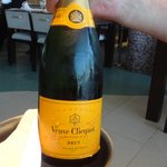 French Champagne is expensive in Spain!