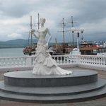 """Скульптура """"Белая невеста"""""""