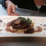 Tenderloin with foie grass and Madeira sauce
