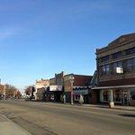 Historic downtown Savanna, IL