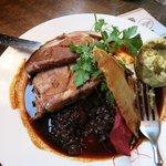 Pork & Red Cabbage mmmmm