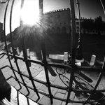 morning breaks on Piazza Sardello