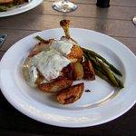 Chicken breast entree