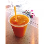Carrot top smoothie