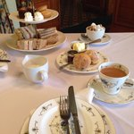 Lots of choice including warm scones, couldn't fault it.