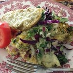 Breakfast - 2nd Course - Garden Frittata