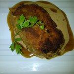 Cordon bleu sauce crème