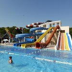 Kids pool - water slides