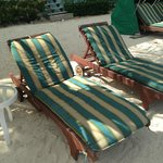 Our own private beach chairs