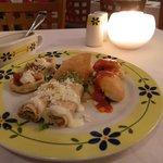 Entradas del restaurant mexicano