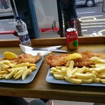 Fish &  chips mediano y grande