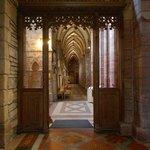 Interior detail at St Magnus Cathedral