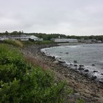View of the Beach from the Marginal Way