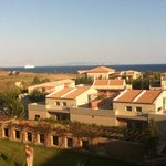 View from room towards Zante
