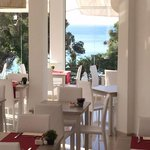 View from main restaurant