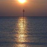 Heacham Beach sunset