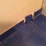 la pinthe de la salle de bain