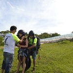 Paraglider com a O.V.N.I