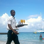 Breakfast is served.... on the beach!