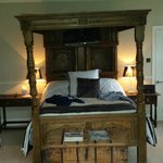 Our super four poster bed