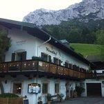 Hotel w/ Reiteralpe behind
