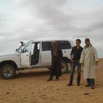 En route pour découvrir le désert