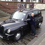 Graham and his black cab