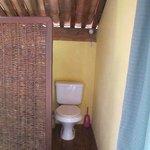 Privado en la habitacion (ademas del baño en PB)