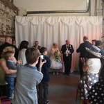 Kelham Island wedding, Crucible Shop