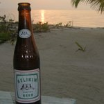 Belizean Sunset with Belikin