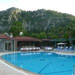 Pool Bar & Mountain view