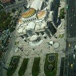 Palacio de Bellas Artes, visto desde la Torre Latinoamericana...