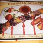 Bushman kabob