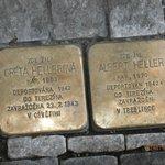 Naked Tour walk memorial stones