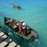 Foto dal pontile di pescatori