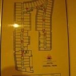 el plan del hotel .