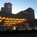 Caesar's at sunset