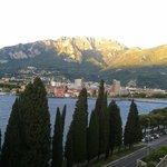 The beautiful town of Lecco by the Como Lake