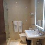 visão geral do banheiro
