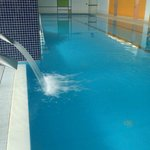 piscina cubierta y climatizada