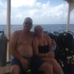 Dad & Daughter headed to Paradise Reef