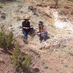 Looking for geological wonders.