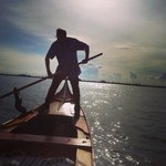 On open water