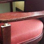 broken room furniture